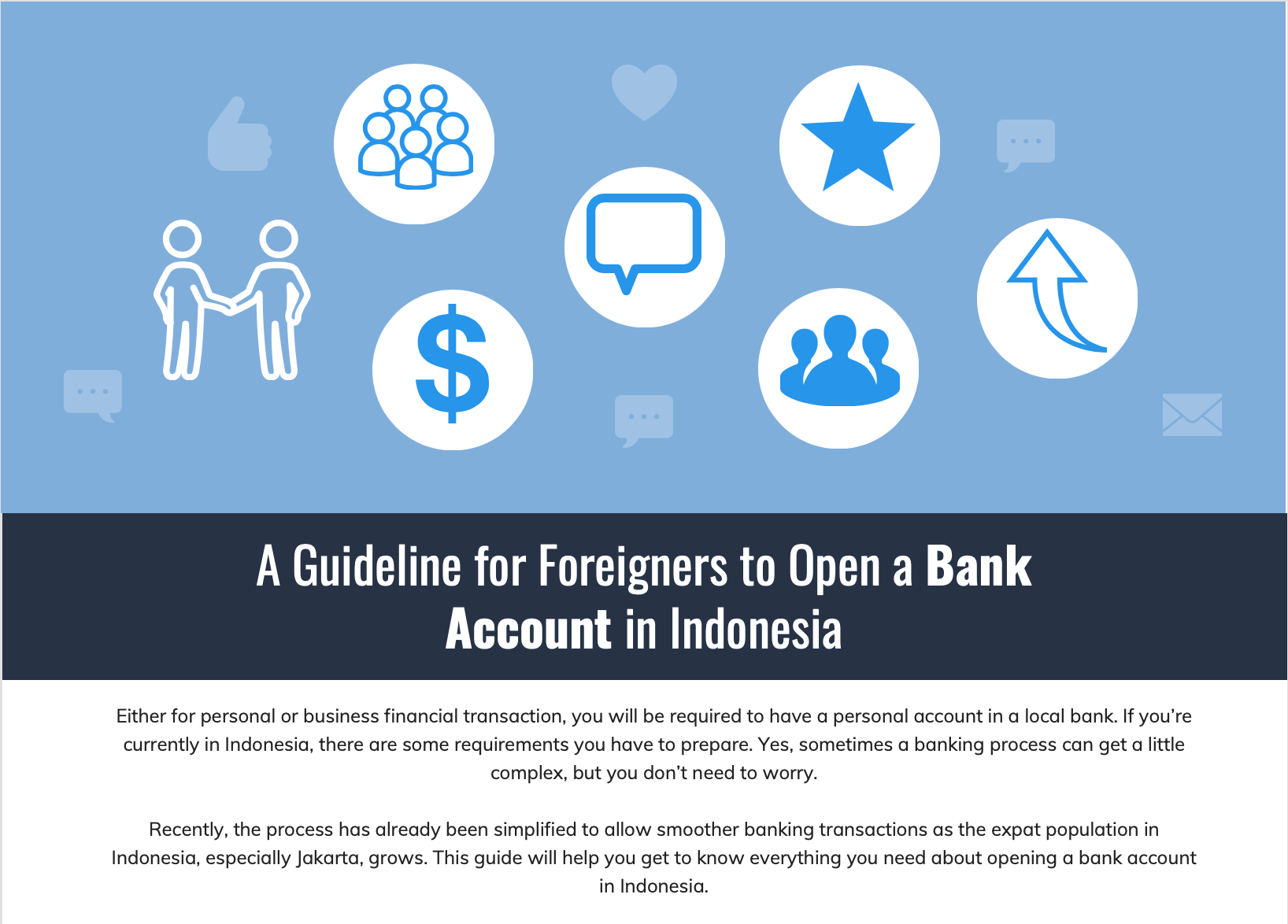Infographic Foreigner Bank Account Senopati part 1